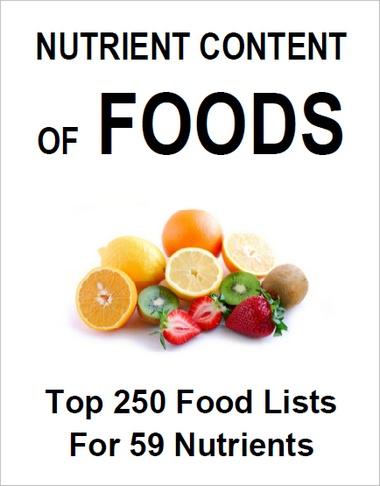 E-Book: Nutrient Content of Foods